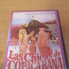 Cine: LAS CHICAS DE COPACABANA (PRECINTADA). Lote 125074083