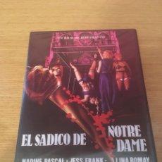 Cine: EL SADICO DE NOTRE DAME (PRECINTADA). Lote 125074400