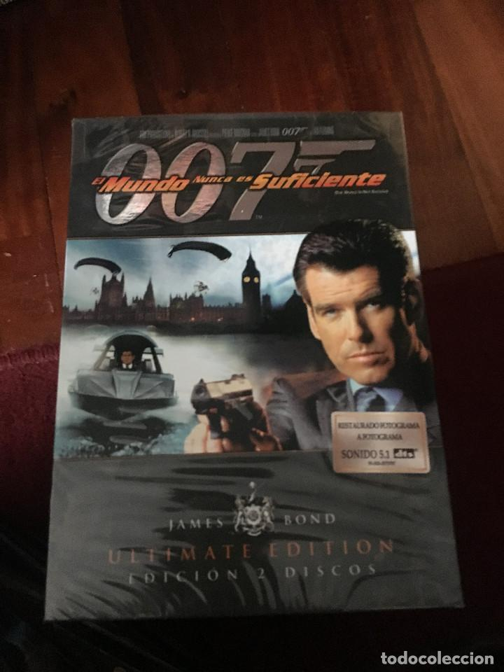 JAMES BOND - 007 - ULTIMATE EDITION DVD - EL MUNDO NUNCA ES SUFICIENTE (Cine - Películas - DVD)