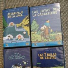 Cine: LAS AVENTURAS DE TINTÍN DVD. Lote 125198759