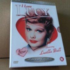 Cine: I LOVE LUCY. DVD NOSTALGIC COLLECTION....3 DVD.....AUDIO EN INGLES. Lote 125237519