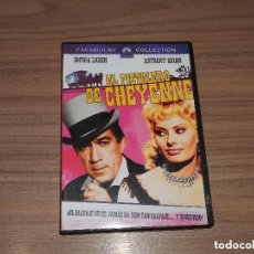 Cine: EL PISTOLERO DE CHEYENNE DVD SOPHIA LOREN ANTHONY QUINN COMO NUEVA. Lote 126070352