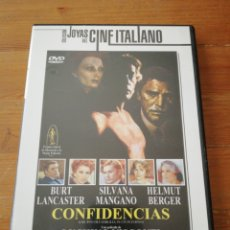 Cine: DVD CONFIDENCIAS. LUCHINO VISCONTI.. Lote 125290172