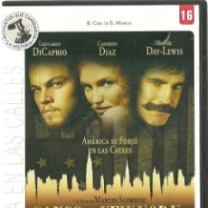 Cine: DVD CINE - GANGS OF NEW YORK. Lote 125378823