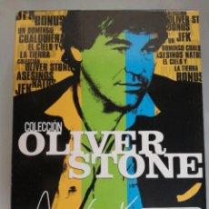 Cine: COLECCIÓN OLIVER STONE -DIGIPACK 8 DVD'S DESCATALOGADO HACE TIEMPO. Lote 125421723