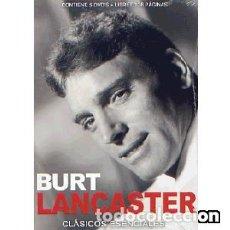 Cine: BURT LANCASTER CLÁSICOS ESENCIALES (5 DVDS) . Lote 125436195
