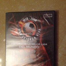 Cine: HISTORIA DE LA MEJOR LIGA DEL MUNDO. 1963 - 1966 EL ZARAGOZA DE LOS 5 MAGNÍFICOS (DVD PRECINTADO). Lote 125493224