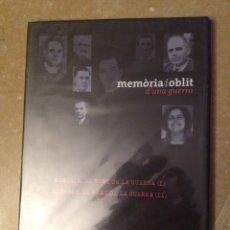 Cine: MEMÒRIA I OBLIT D'UNA GUERRA N 12 (MENORCA) DVD PRECINTADO. Lote 125494776