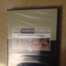 Cine: GRAN TEMÁTICA PLANETA. MANIFESTACIONES ARTÍSTICAS (N 9) DVD PRECINTADO. Lote 125505178