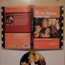 Cine: DVD ORIGINAL - SI TE DICEN QUE CAI - VICENTE ARANDA - VICTORIA ABRIL - ANTONIO BANDERAS. Lote 125509539