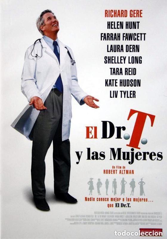EL DR. T. Y LAS MUJERES. DVD. ROBERT ALTMAN. CON RICHARD GERE (Cine - Películas - DVD)