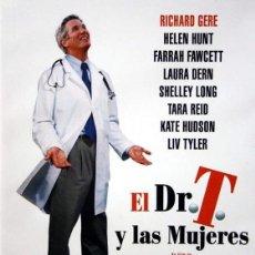 Cine: EL DR. T. Y LAS MUJERES. DVD. ROBERT ALTMAN. CON RICHARD GERE. Lote 125822543