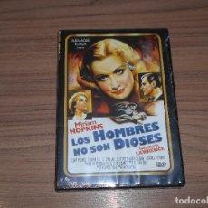 Cine: LOS HOMBRES NO SON DIOSES DVD DE ALEXANDER KORDA MIRIAM HOPKINS NUEVA PRECINTADA. Lote 126244804