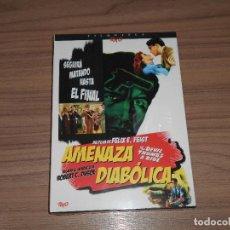 Cine: AMENAZA DIABOLICA EDICION ESPECIAL DVD + LIBRO 24 PAG. NUEVA PRECINTADA. Lote 126244716
