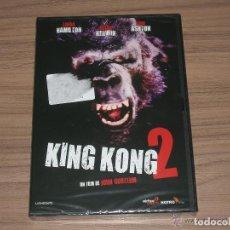 Cine: KING KONG 2 DVD LINDA HAMILTON NUEVA PRECINTADA. Lote 151721562