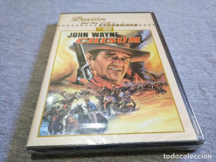 CHISUM DVD NUEVO PRECINTADO JOHN WAYNE (Cine - Películas - DVD)