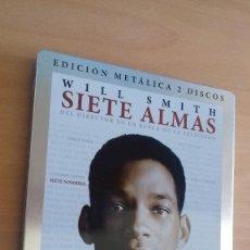 Cine: CINE DVD PELICULA SIETE ALMAS EDICION ESPECIAL METALICA 2 DISCOS. Lote 125965319