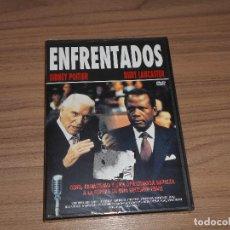 Cine: ENFRENTADOS DVD SIDNEY POITIER BURT LANCASTER NUEVA PRECINTADA. Lote 126244548