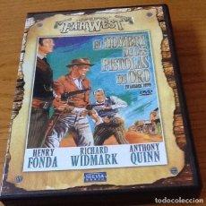 Cine: EL HOMBRE DE LAS PISTOLAS DE ORO. DVD. EDWARD DMYTRICK. CON HENRY FONDA, RICHARD WIDMARK . Lote 126032087