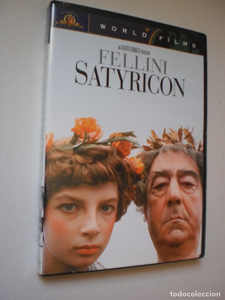 DVD SATYRICON. FELLINI. 129 MINUTOS (ESTADO NORMAL) INGLÉS (SUBTÍTULOS CASTELLANO, FRANCÉS, INGLÉS) (Cine - Películas - DVD)