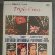 Cine: TRIPLE CROSS .PELÍCULA DVD. Lote 126043743