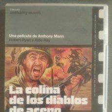 Cine: LA COLINA DE LOS DIABLOS DE ACERO .PELÍCULA DVD. Lote 126045662