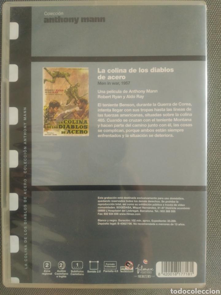 Cine: La colina de los Diablos de acero .Película DVD - Foto 2 - 126045662