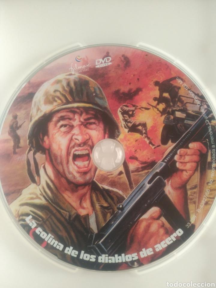 Cine: La colina de los Diablos de acero .Película DVD - Foto 3 - 126045662