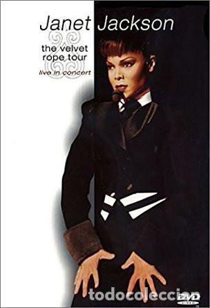 JANET JACKSON DVD. THE VELVET ROPE TOUR. LIVE IN CONCERT (Cine - Películas - DVD)