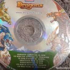 Cine: CD ROM INTERACTIVO DRAGONES. Lote 126071391