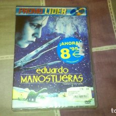 Cine: PELICULA DVD EDUARDO MANOSTIJERAS DESCATALOGADA PRECINTADA TIM BURTON JOHNNY DEPP. Lote 126085399