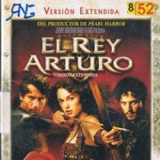 Cine: EL REY ARTURO. VERSIÓN EXTENDIDA. DVD. Lote 126145663
