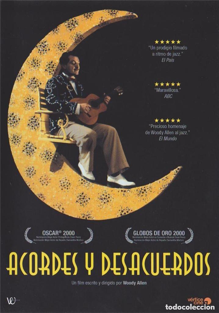 ACORDES Y DESACUERDOS. DVD. WOODY ALLEN (Cine - Películas - DVD)