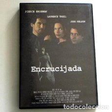 Cine: ENCRUCIJADA - DVD PELÍCULA SUSPENSE - PIERCE BROSNAN - LAURENCE TREIL - JUDD NELSON +7 AÑOS. Lote 126294343