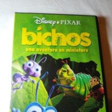 Cine: BICHOS DVD COMO NUEVO DISNEY PIXAR. Lote 126348630