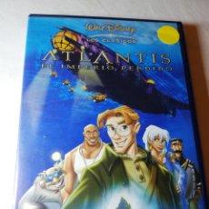 Cine: ATLANTIS EL IMPERIO PERDIDO DVD DISNEY. Lote 126348718