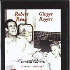 Cine: COMPAÑERO DE MI VIDA. TENDER COMRADE. DVD. EDWARD DMYTRICK. CON ROBERT RYAN Y GINGER ROGERS. Lote 126396191
