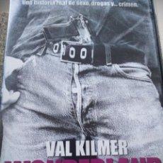 Cine: DVD -- WONDERLAND -- VAL KILMER -- . Lote 126436331