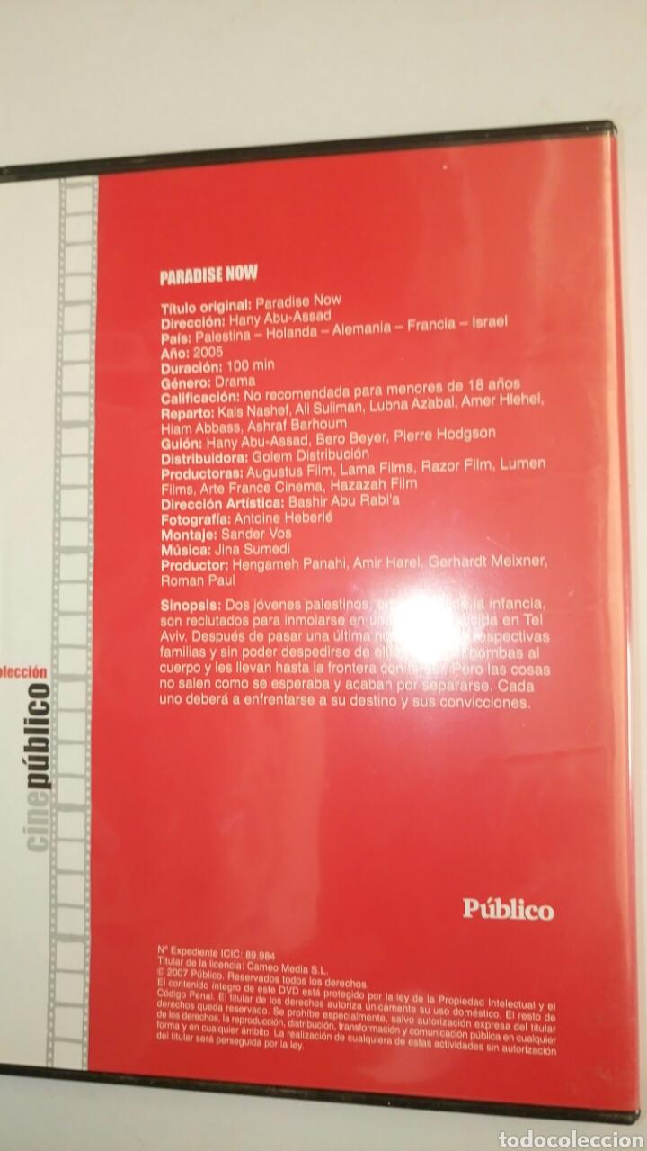Cine: PARADISE NOW, de Colección Cine Público. - Foto 3 - 126440284