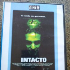 Cine: DVD -- INTACTO -- JUAN CARLOS FRESNADILLO -- . Lote 126496915