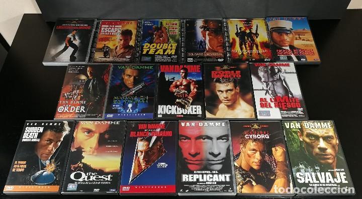 Oferta Pack Dvd Jean Claude Van Damme 17 Peli Sold Through Direct Sale 126539563