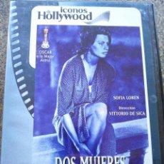 Cine: DVD -- DOS MUJERES -- SOFIA LOREN --. Lote 126542239