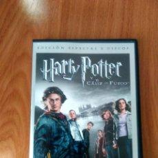 Cine: HARRY POTTER Y EL CÁLIZ DE FUEGO - ED 2 DVD - COMO NUEVO. Lote 126554263