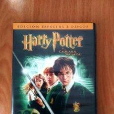 Cine: HARRY POTTER Y LA CÁMARA SECRETA - ED ESPECIAL 2 DVD - COMO NUEVO. Lote 126554599