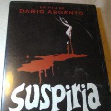 Cine: SUSPIRIA DVD TERROR DARIO ARGENTO. Lote 126584996