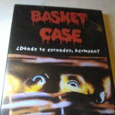 Cine: BASKET CASE DVD TERROR GORE DESCATALOGADO. Lote 126585163