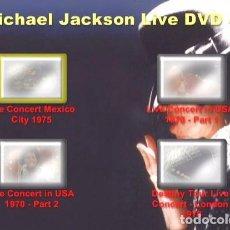 Cine: MICHAEL JACKSON LIVE IN DVD 3DVDS. Lote 126604215