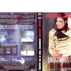 Cine: MJ DANGEROUS TOUR IN THE MAKING. Lote 126604303