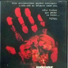 Cine: TODODVD: HOUSE ON HAUNTED HILL (GEOFFREY RUSH, FAMKE JANSSEN, TAYE DIGGS, ALI LARTER) - PARTICULAR.. Lote 126647727