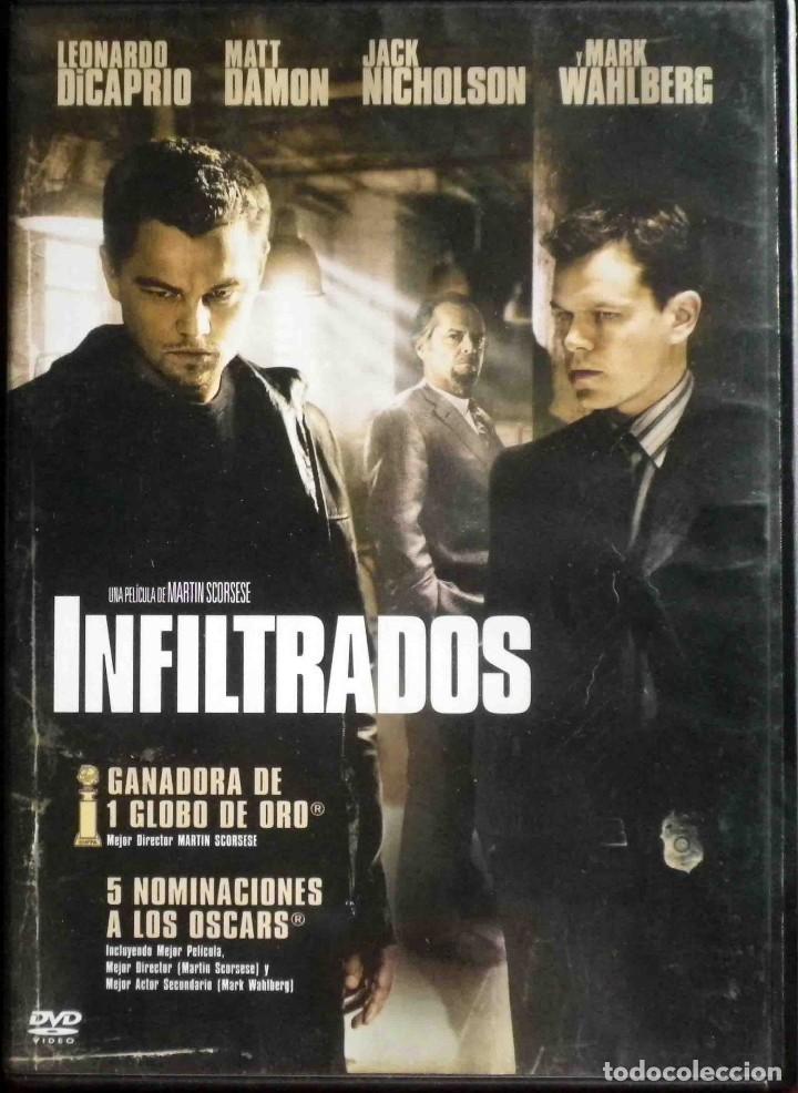 TODODVD: Infiltrados. Martin Scorsese (Leonardo DiCaprio, Matt Damon, Jack Nicholson, Mark Wahlberg) segunda mano
